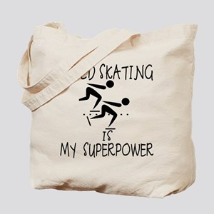SPEEDSKATING is My Superpower Tote Bag